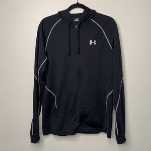 Under Armour Women's Medium Hoodie Zip Black